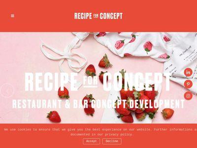 Recipe for Concept