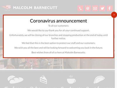 Malcolm Barnecutt Bakery Limited
