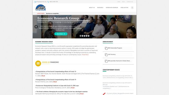 Economic Research Group
