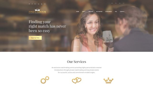 Find L'Amour - Exclusive Matchmaking Service