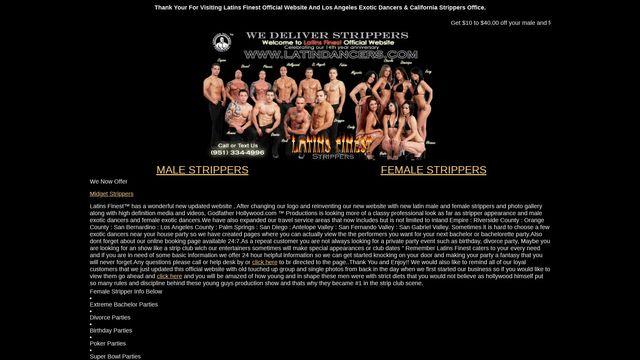 Latin Male Stripper