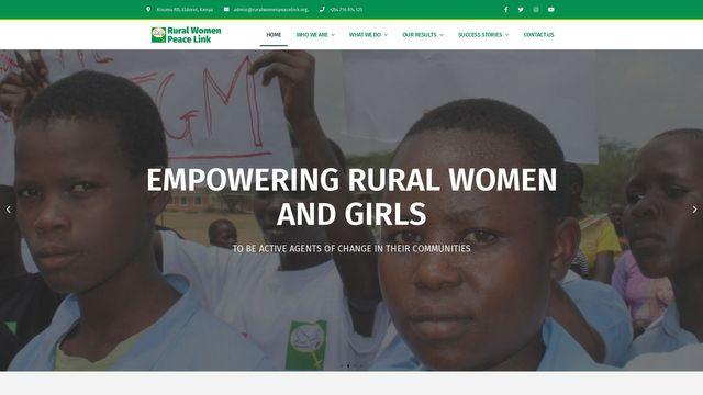 Rural Women Peace Link