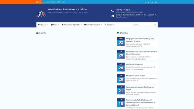 The US Educated Azerbaijani Alumni Association