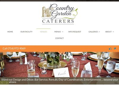 Country Garden Caterers.