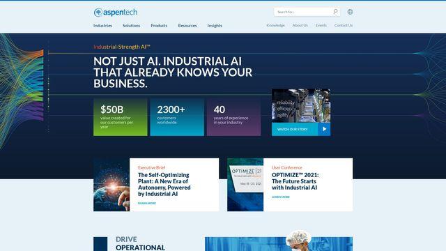 Aspen Technology Inc