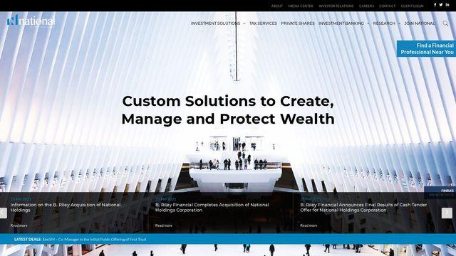 B. Riley Wealth Management, inc.