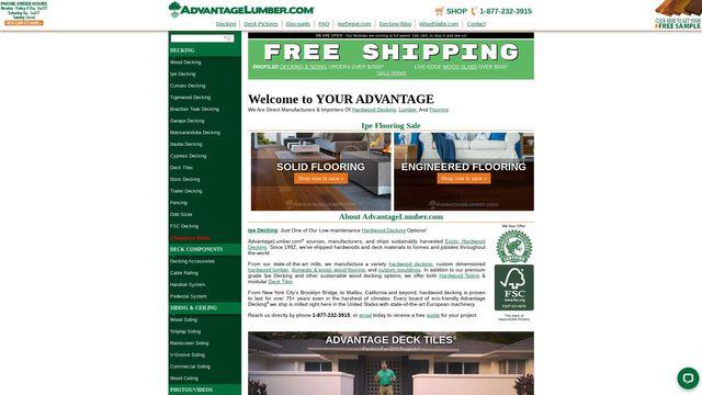 Advantage Trim and Lumber Company