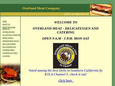 Overland Meat Company