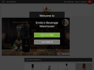 Emilios Beverage Warehouse