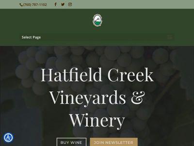 Hatfield Creek Vineyards & Winery