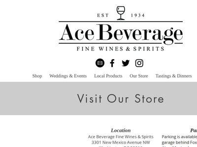 Harry Siegel's Ace Beverage Company