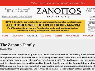 Zanotto's Markets