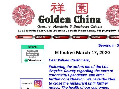 Golden China Restaurant