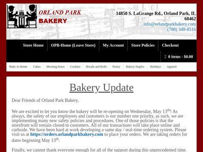 Orland Park Bakery