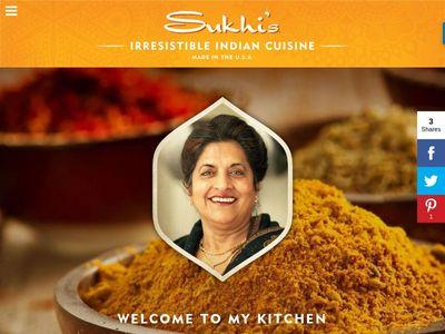 SUKHI'S GOURMET INDIAN FOOD.