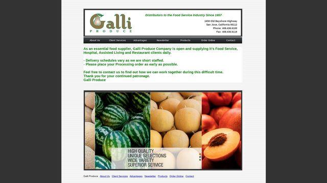 Galli Produce Company