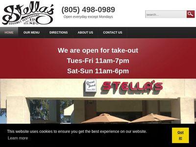 Stella's Gourmet Restaurant