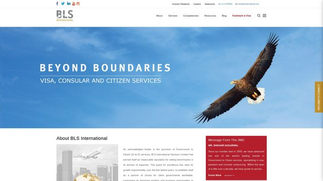 BLS International Services Limited