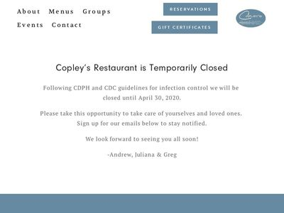 Copley's of Palm Springs