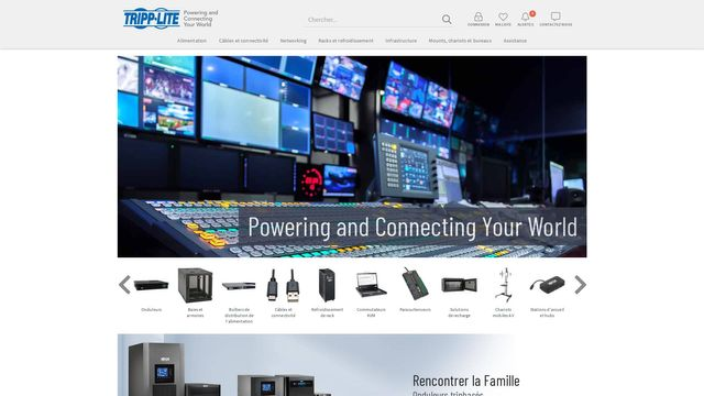 Tripp Lite Website