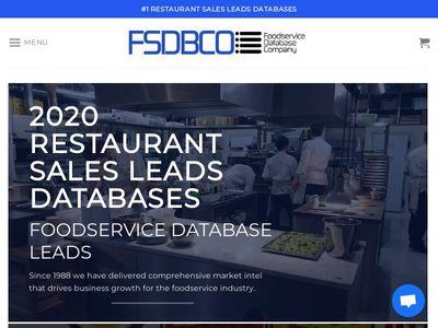 Foodservice Database Company, Inc.