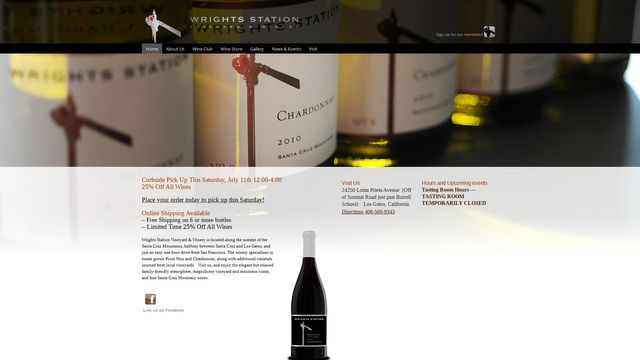 Wrights Station Vineyard & Winery.