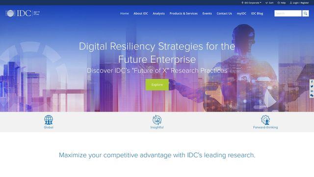 IDC: The premier global market intelligence company