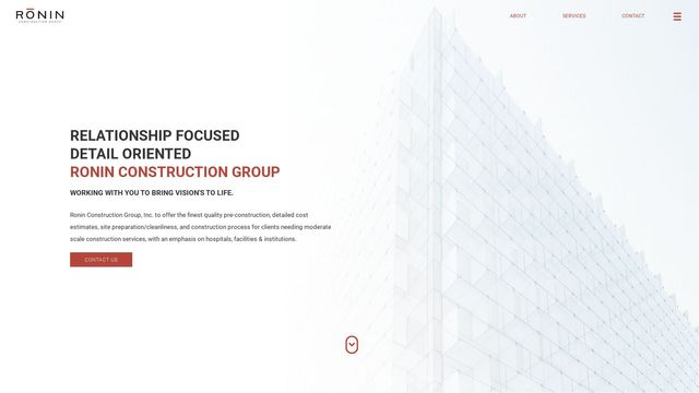 Ronin Construction Group