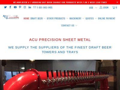 ACU Precision Sheet Metal