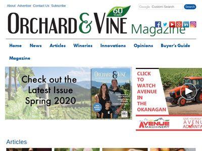 Orchard & Vine Magazine Ltd.