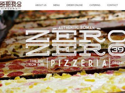 Zero Zero 39 Pizzeria