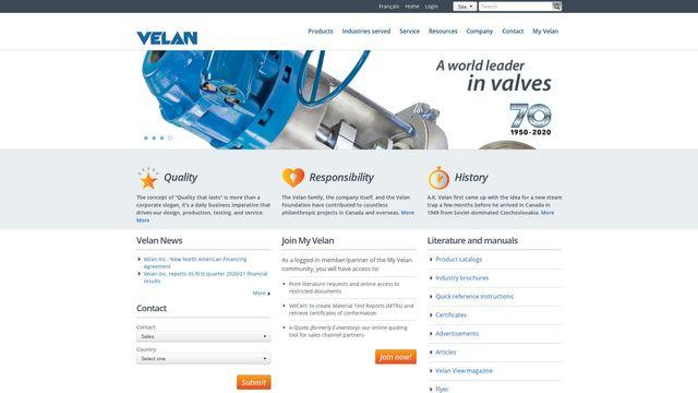 Velan Inc.
