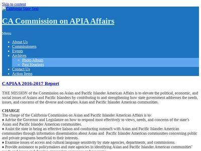 CA Commission on APIA Affairs