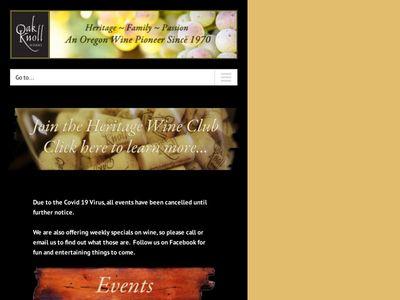 Oak Knoll Winery