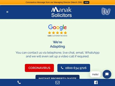 Manak Lawyers Limited