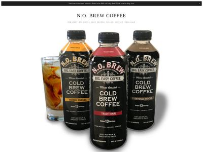orleans beverage & Extract Co. N.O. Brew Coffee