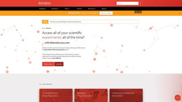 Dotmatics Limited