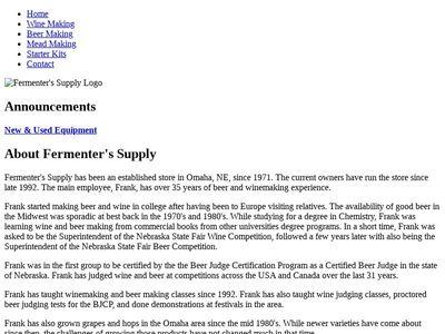 Fermenter's Supply