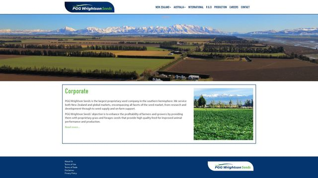 PGG Wrightson Seeds Limited