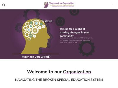 The Jonathan Foundation for Children with Learning Disabilities, Inc.