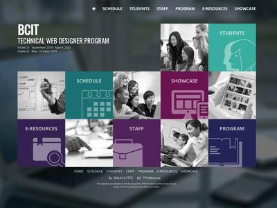 BCIT Technical Web Designer