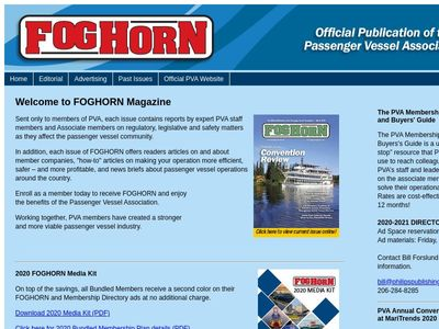 FOGHORN Magazine