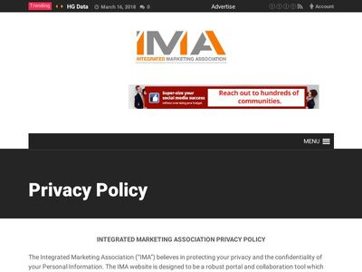Integrated Marketing Association (IMA)