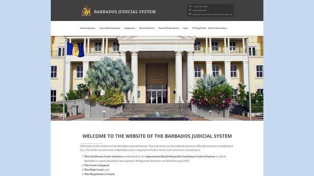 Barbados Judical System