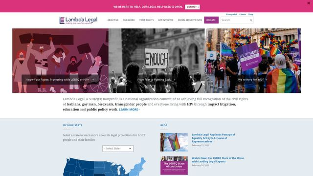 Lambda Legal Defense and Education Fund, Inc.