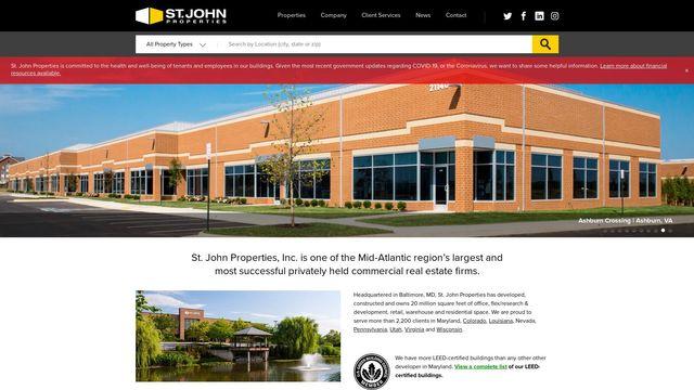St. John Properties, Inc.