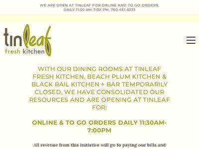 Tin Leaf Kitchen