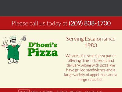 D'boni's Pizza