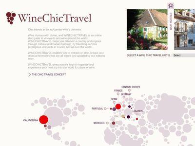 WINE CHIC TRAVEL