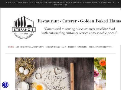 Stefano's Golden Baked Hams